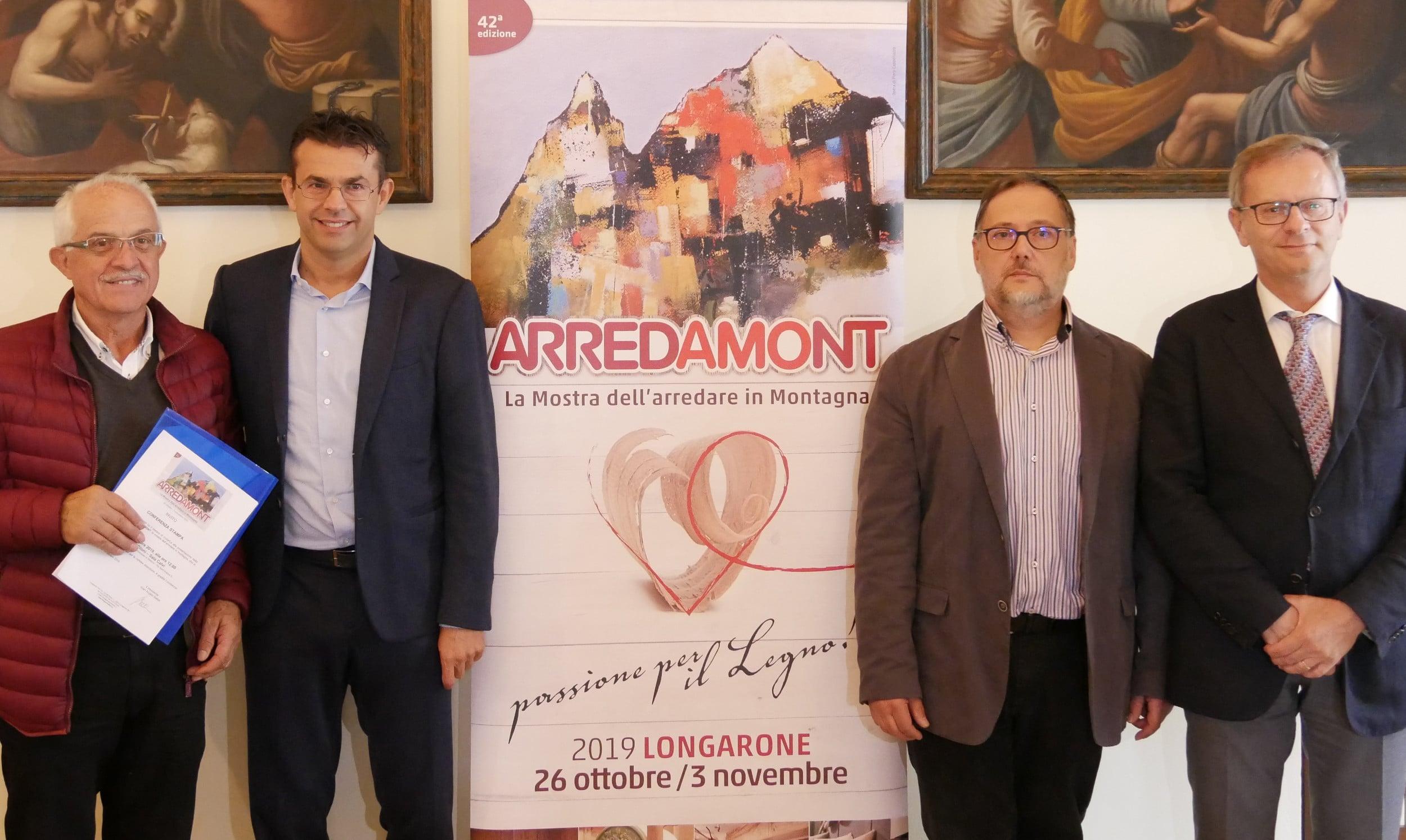 Presentazione 42a Arredamont - Palazzo Piloni