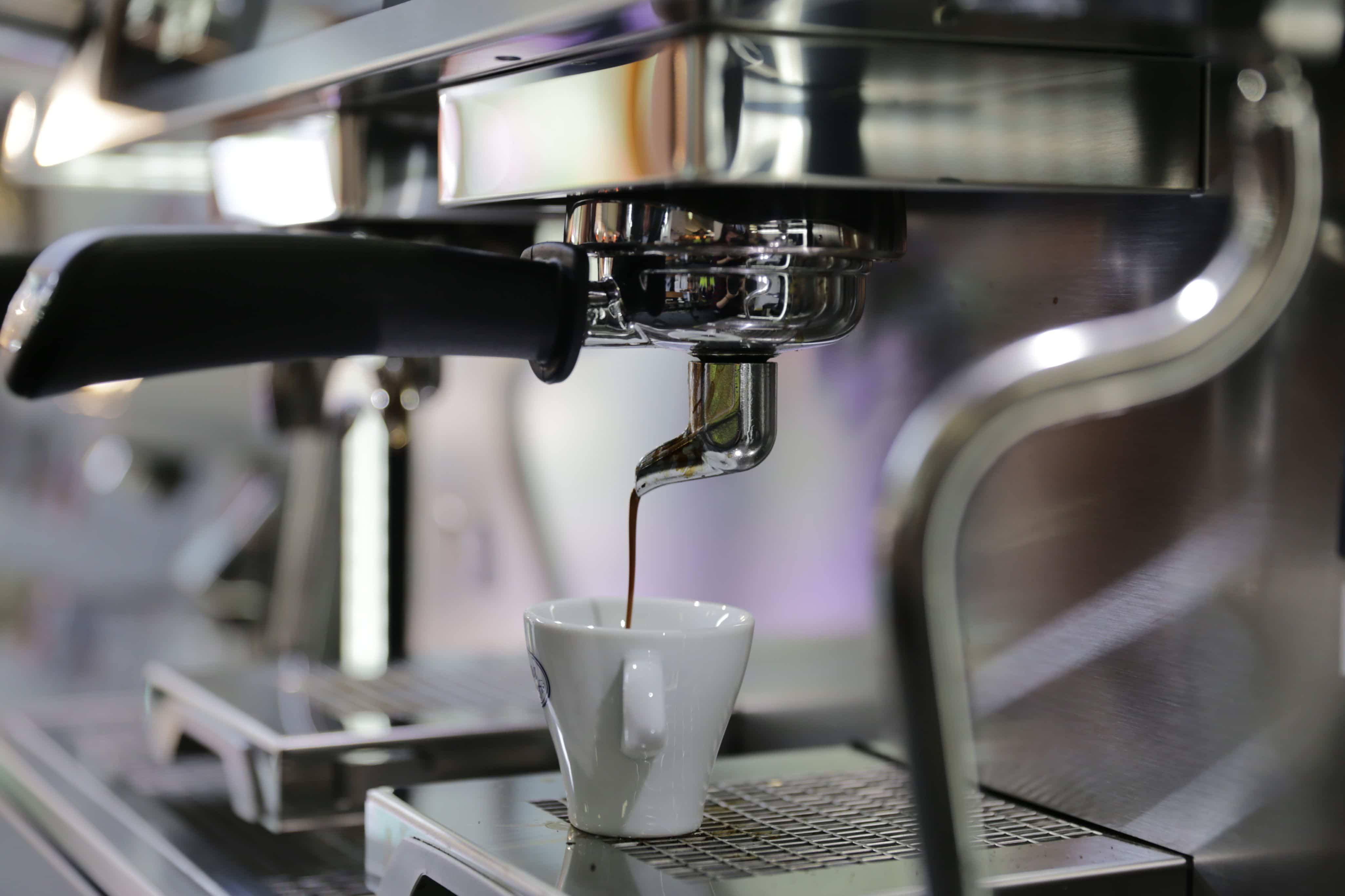 foto macchina caffè espresso