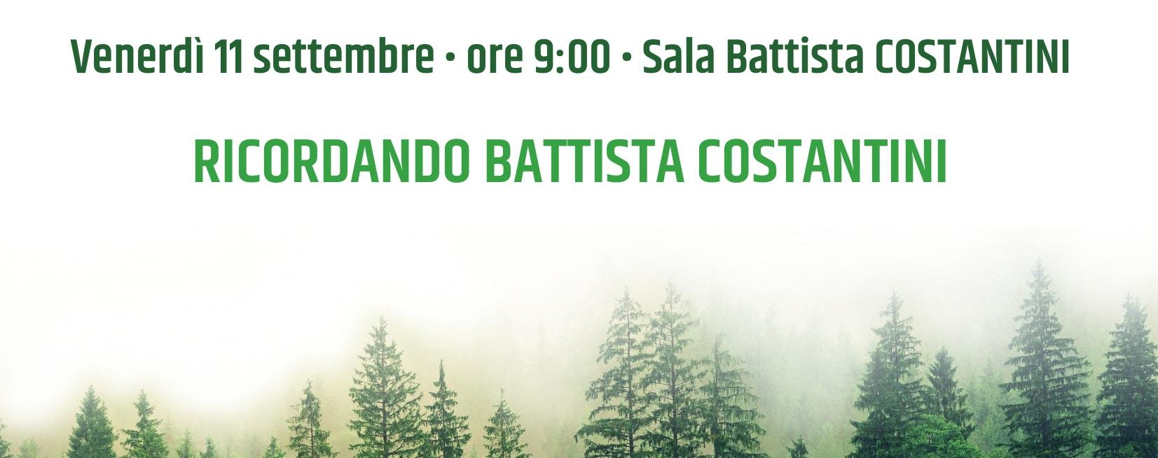 Ricordando Battista Costantini - la cerimonia a FFF2020