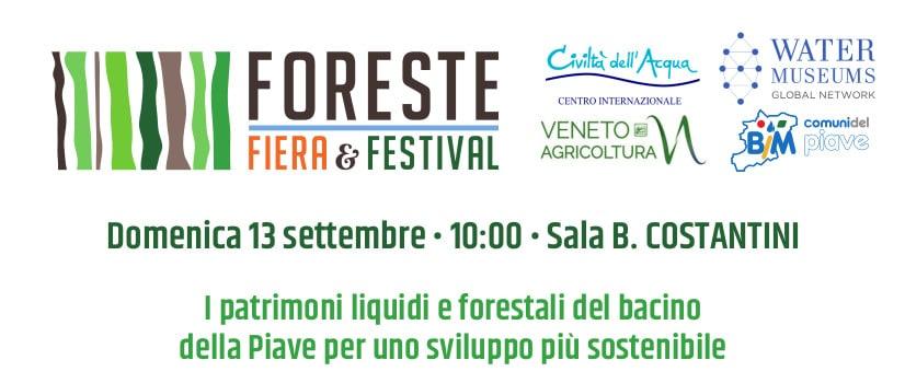fff2020 - I patrimoni liquidi e forestali del bacino