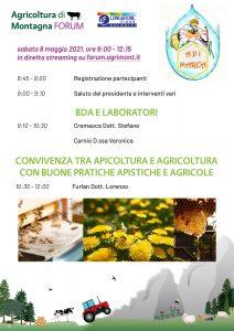 APIMARCA BDA Laboratori Convivenza apicoltura agricoltura