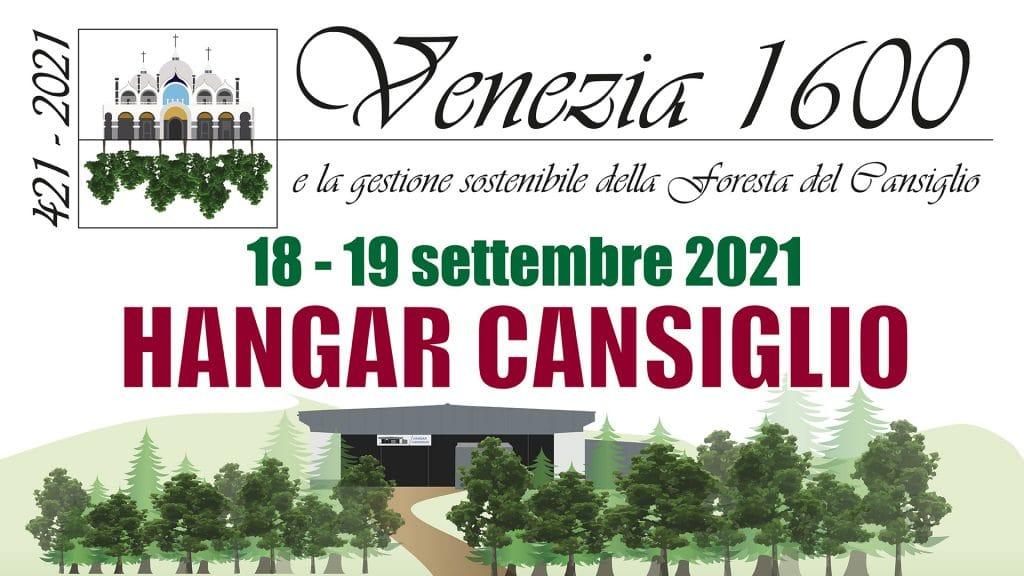 logo Venezia 1600 gestione sostenibile foresta Cansiglio