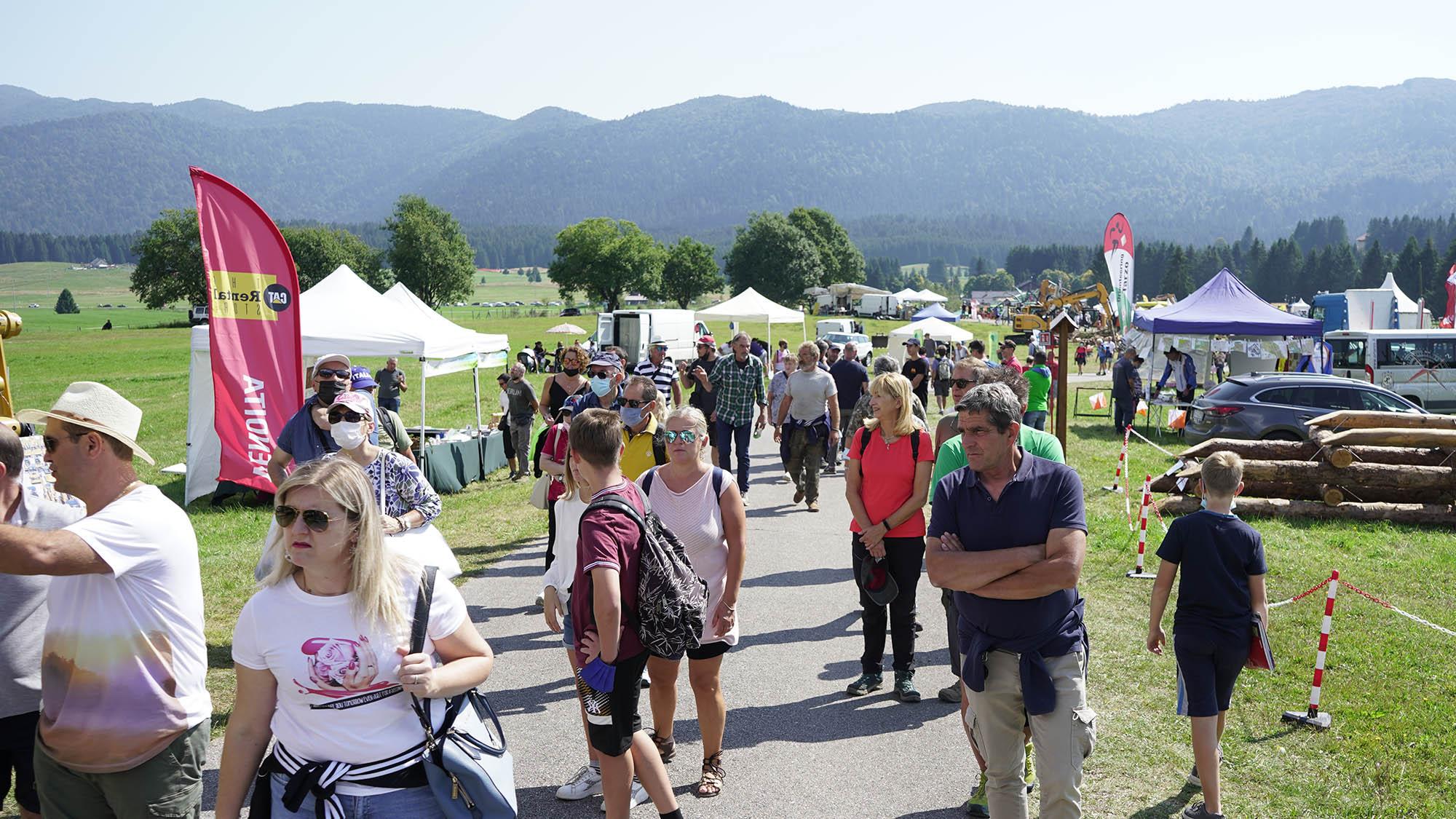 Grande pubblico a Fiera e Festival delle Foreste